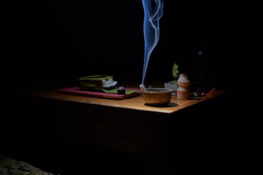 הקסדה המגנטית – גמילה מעישון
